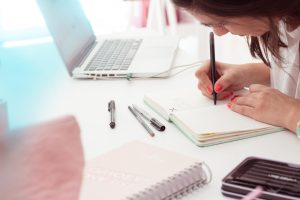 Escritura personal a diario. ¿Cómo te has sentido hoy?